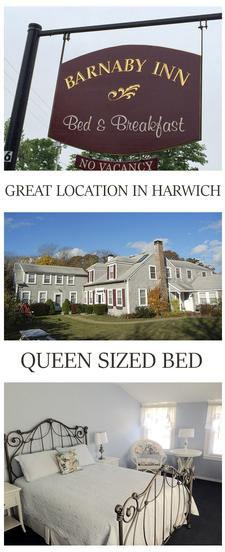 Barnaby Inn, located on Route 28 in Harwich, is offering 35% OFF a 1-night stay in a QUEEN ROOM for two people