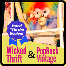 WICKED THRIFT in West Yarmouth is offering a $20 Shopping Spree for only $10!