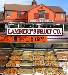 Lambert's Rainbow Fruit in Centerville is offering $5 OFF a Family Style Dinner