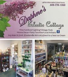 Daphne's Eclectic Cottage in Centerville is offering $20 to spend for only $10