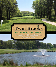 Get 44% OFF an 18-hole Twosome at Twin Brooks Golf Course in Hyannis - Includes FREE Use of TWO Pull Carts ($10 value)