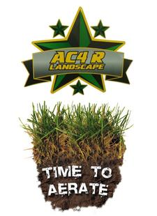 AC4R Landscape in West Yarmouth is offering 25% OFF a Mow, Aerate and Seed Package