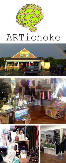 ARTichoke in Eastham is offering $28 to spend on In-Store Apparel purchases, for only $14