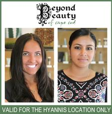 Half Price Spa Day at Beyond Beauty in Hyannis