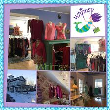 Whimsy - a unique consignment boutique in West Harwich is offering $30 to spend, for only $15