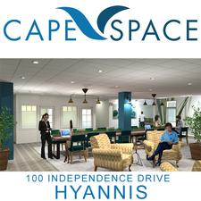 CapeSpace in Hyannis is offering Half Price Business Lounge Day Passes