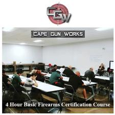Cape Gun Works in Hyannis is offering 40% OFF a 4-Hour Basic Firearms Certification Course (LTC)