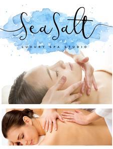 50% OFF a 30-minute AromaTouch Massage and Mini-Facial Package at Sea Salt Luxury Spa Studio in Mashpee Commons