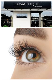 Cosmetique Salon in Hyannis is offering a 47% OFF a Lash Tint
