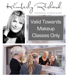 50% OFF a Private Makeup Tutorial with Kimberly Richard - The Bridal Studio and Spa in Sandwich