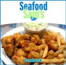 Seafood Sam's in SANDWICH is offering $30 towards food, for only $15