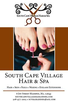 South Cape Village Hair & Spa in Mashpee is offering Half Price Pedicure with Jessica Grady