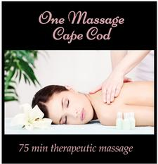 One Massage Cape Cod in Chatham is offering 35% OFF a 75-minute Therapeutic Massage