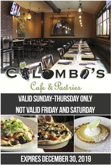 $30 to spend at Colombo's Cafe and Pastries on Main Street in Hyannis, for only $15