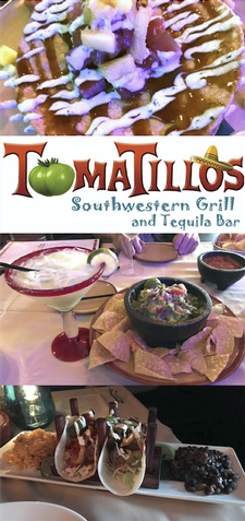 Tomatillos Southwestern Grill & Tequila Bar in Sandwich is offering $25 towards food, for only $12.50