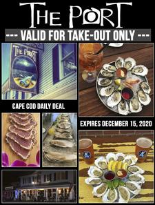 The Port Restaurant in Harwich Port: $30 towards Take-Out for only $20