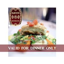 DINNER ONLY: Alberto's Ristorante in Hyannis: Get $25 to spend towards Dinner for only $12.50