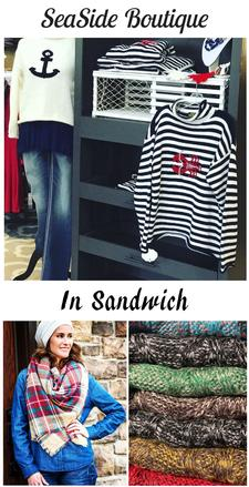 Seaside Boutique Cape Cod in Sandwich is offering $25 to spend, for only $12.50