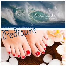 40% OFF a Relaxing Spa Pedicure at Oceanside Hair and Spa