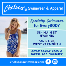 $30 to spend for only $15 at Chelsea's Swimwear and Apparel Outlet on Main Street in Hyannis and Route 28 in West Yarmouth