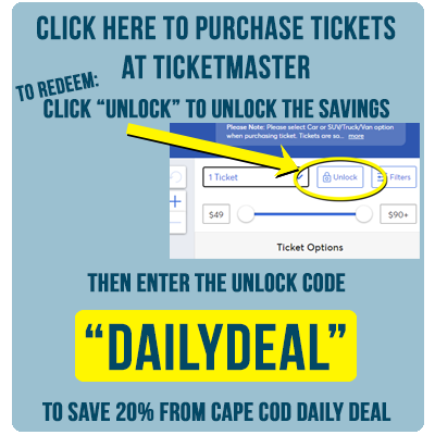 click here to save 30% at Ticketmaster